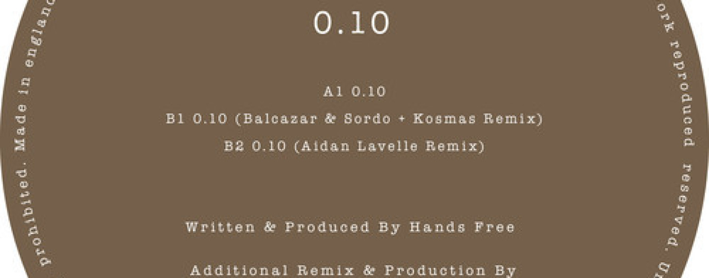 Hands Free – 0.10 (Inc. Balcazar & Sordo + Kosmas & Aidan Lavelle Remix) [Dilate Records]