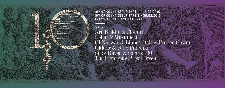 Various Artists – 10Y of Connaisseur Part 2