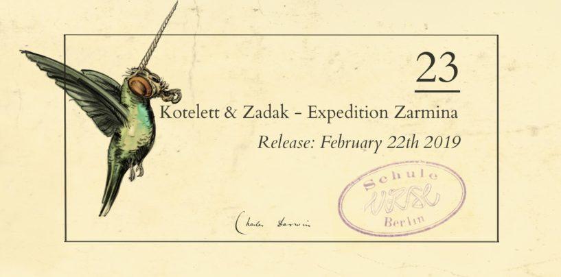 Premiere: Kotelett & Zadak – Zarmina [URSL]