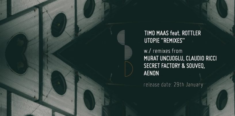 Premiere: Timo Maas feat. Rottler – Utopie (Secret Factory & SouveQ remix) [Stripped Down Records]